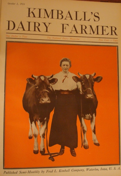 Kimball's Dairy Farmer Magazine October 1, 1914