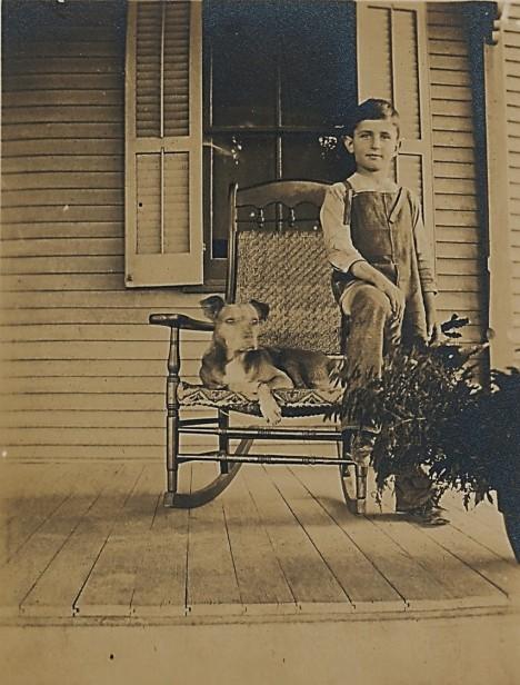 Jimmie Muffly, circa 1913