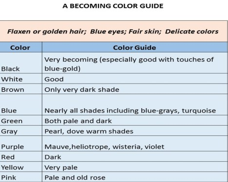 color guide f