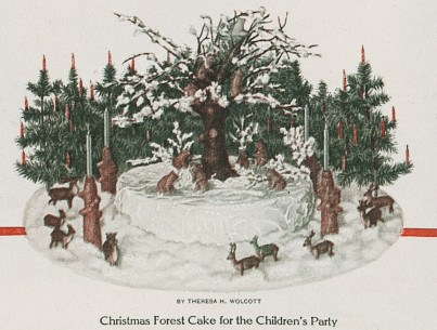 Forest Christmas Table Decoration