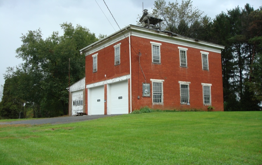 Recent photo of the building that once was the McEwensville School. The high school was on the second floor. There was an elementary school on the first floor.