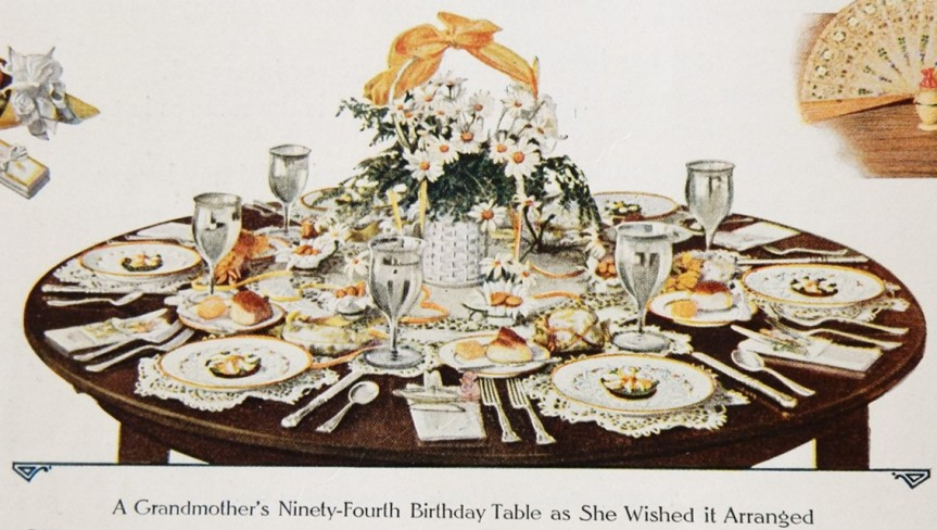 94th birthday table 2