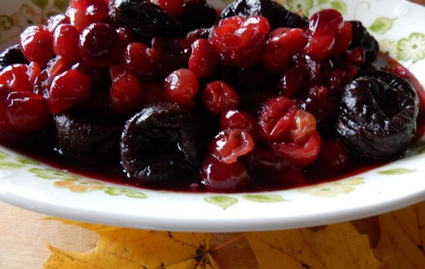 cranberries with prunes 2