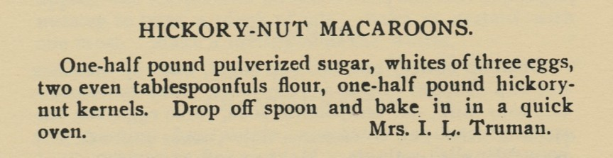 Source: Lycoming Valley Cook Book, Compiled by the Ladies of the Trout Run M.E. Church (1907)