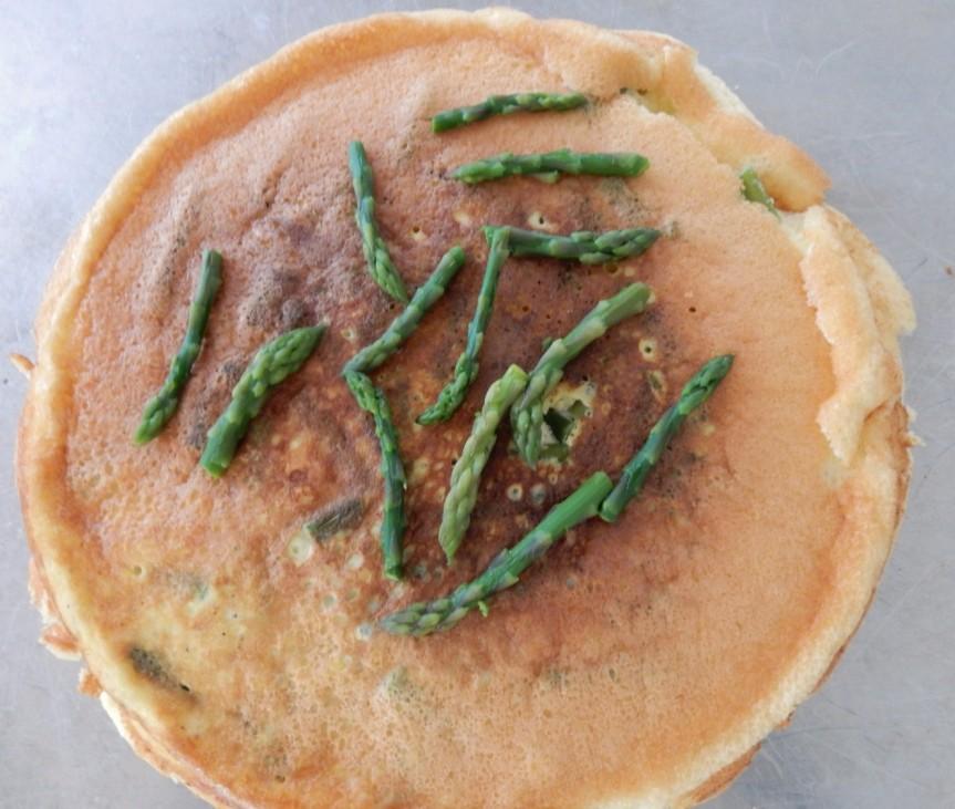 Asparagus Omelet d