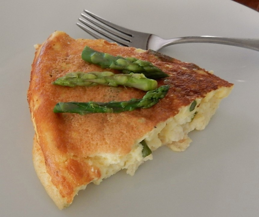 asparagus omelet h
