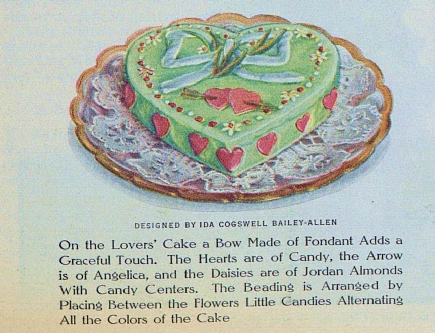 Valentine Cake LHJ 2 1914 a