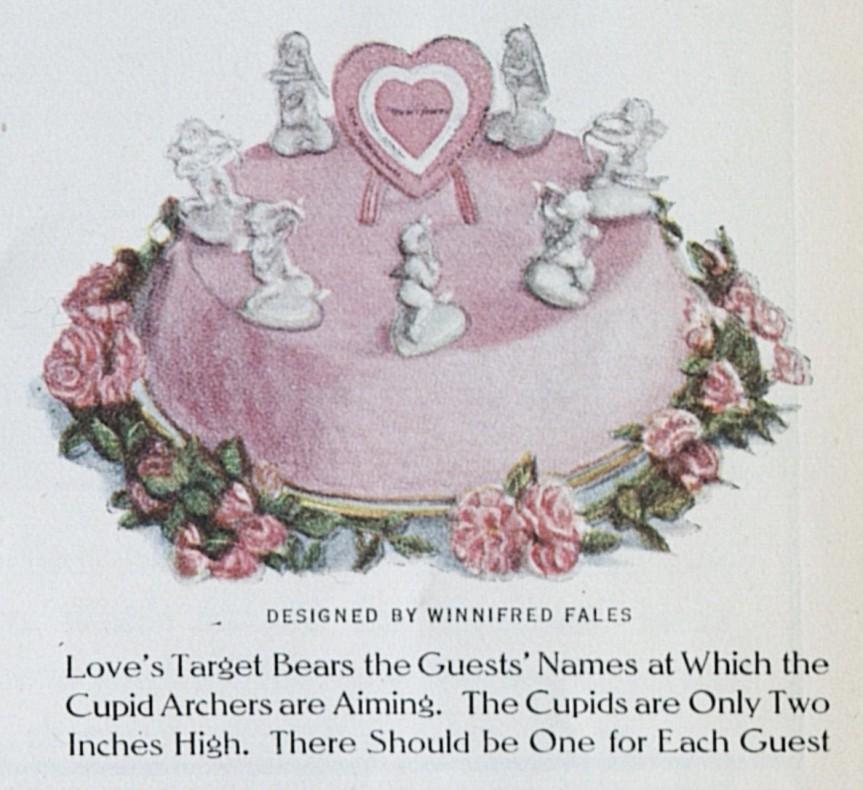 Valentine Cake LHJ 2 1914 b