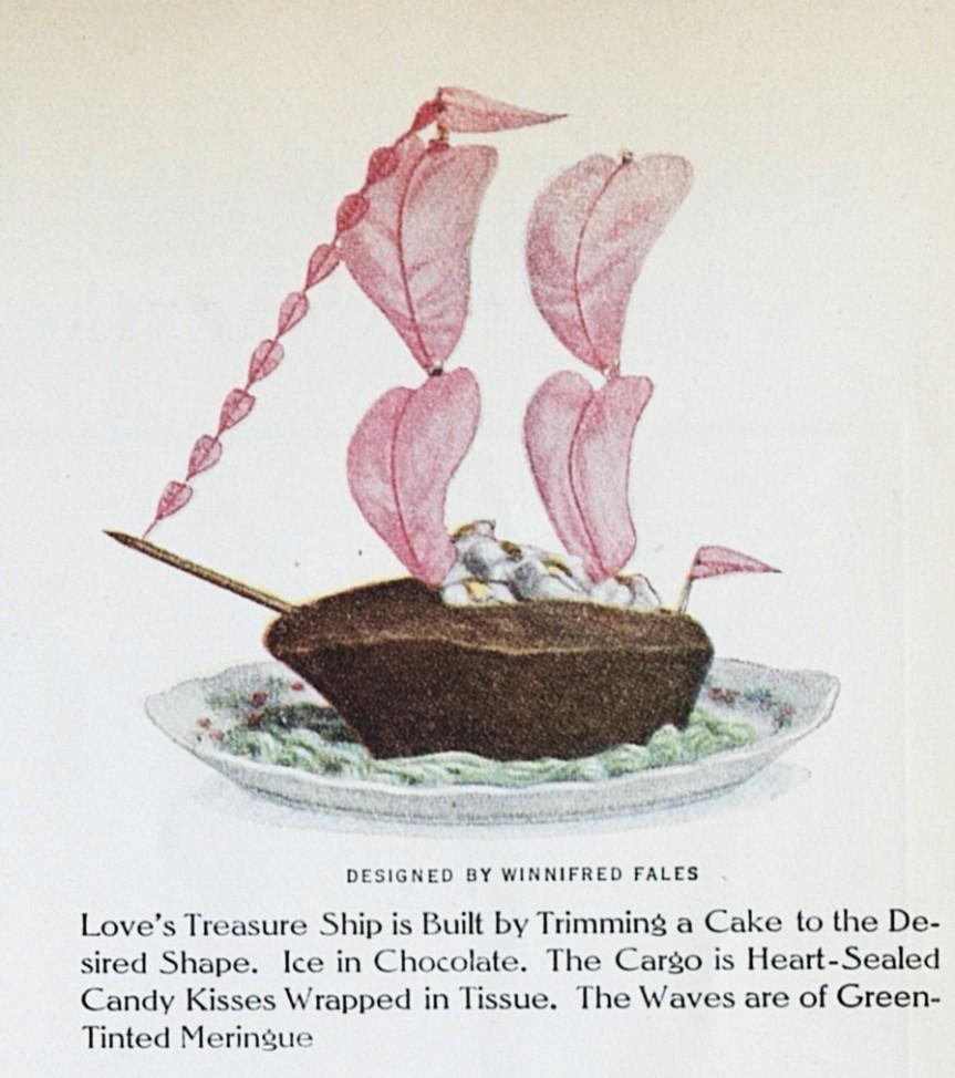 Valentine Cake LHJ 2 1914 c