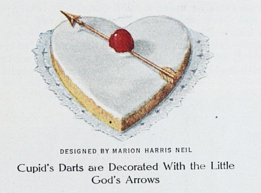 Valentine Cake LHJ 2 1914 d