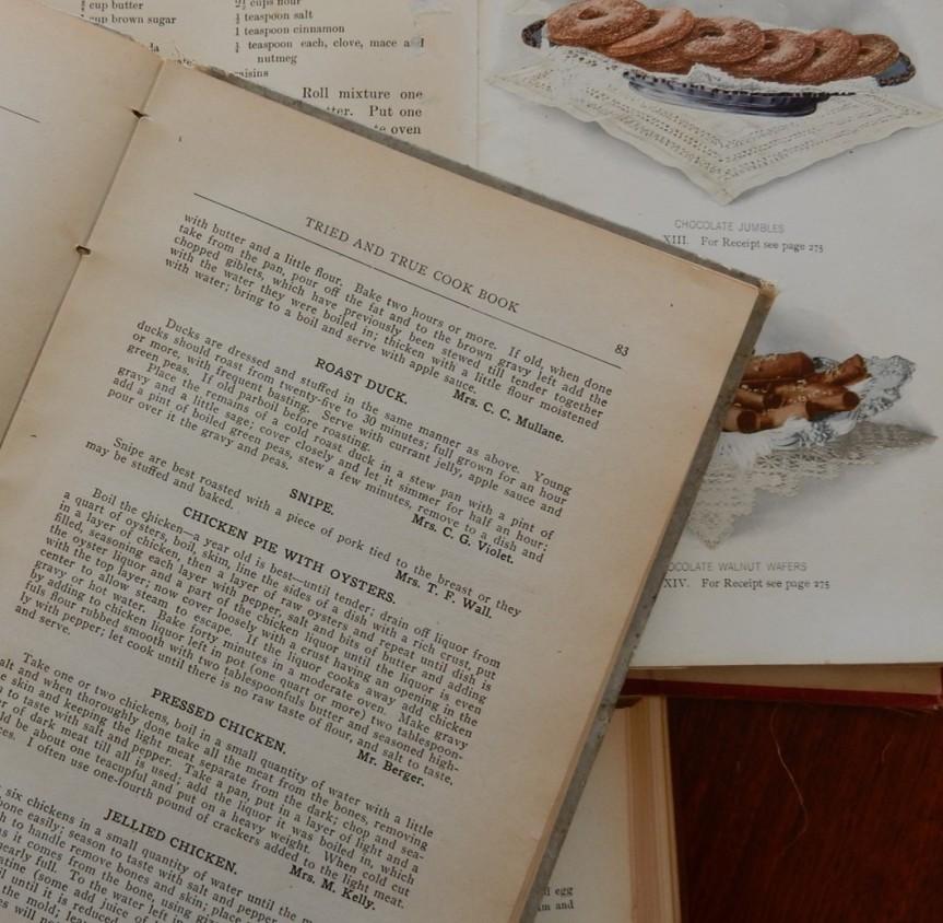 old cookbooks 2