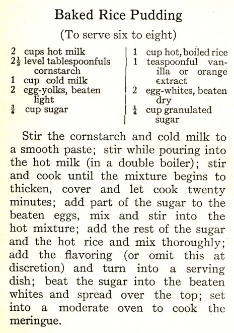 Source: American Cookery (Boston Cooking School Magazine, February, 1916)