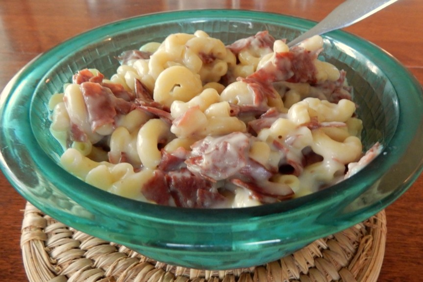 Creamed Macaroni & Dried Beef 3