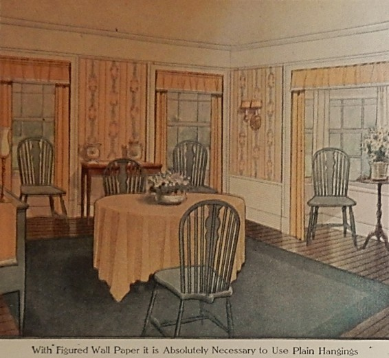 Dining Room LHJ 10 1911
