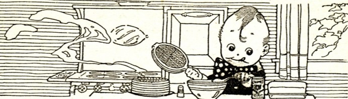 Image source: Reliable Recipes (published by Calumet Baking Powder Co., 1912)