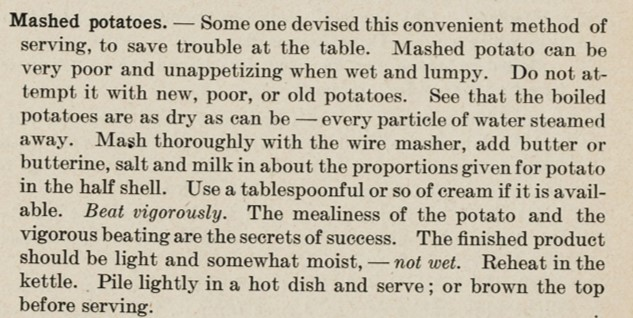 Source: Foods and Household Management: A Textbook of Household Arts (1915)