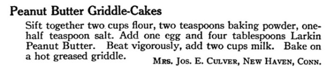 Source: Larkin Housewives Cook Book