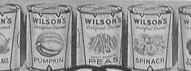 Image of canned food from a 1919 magazine