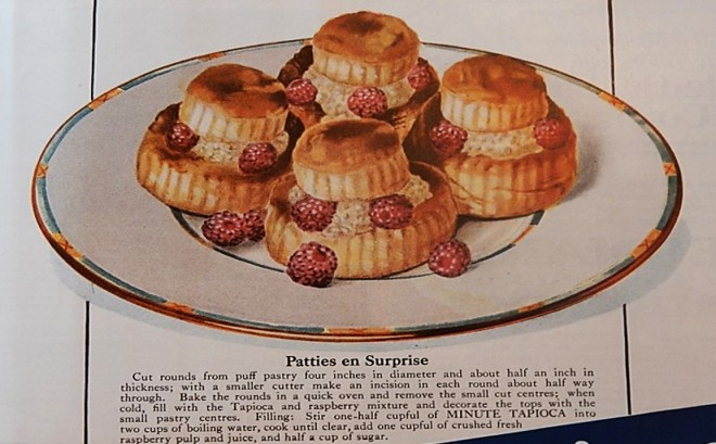 Picture of, and recipe for, Raspberry Patties en Surprise
