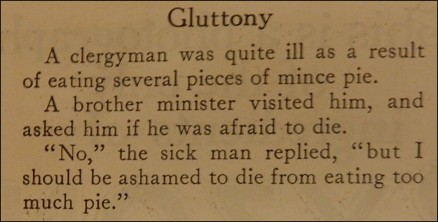 joke about gluttony