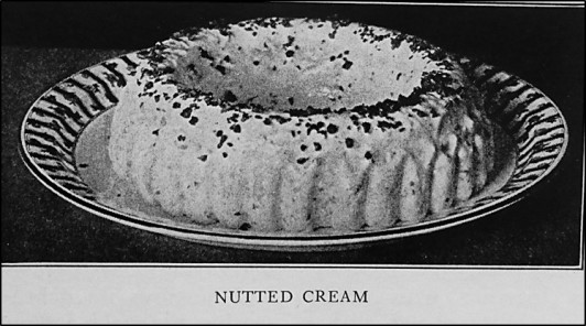 Nutted Cream on Plate