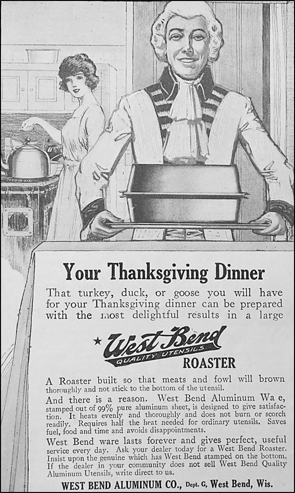 Man holding roasting pan