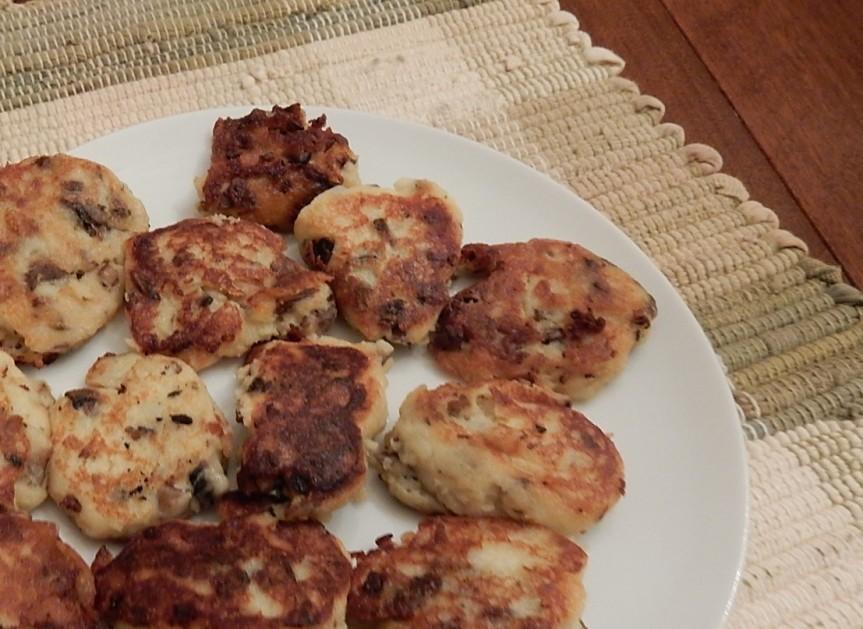 Mushroom Croquettes on plate