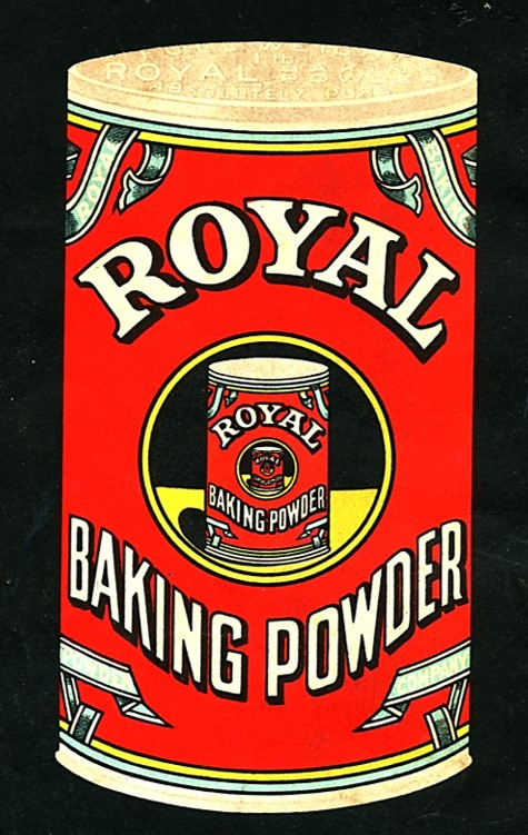 vintage can of Royal Baking Powder