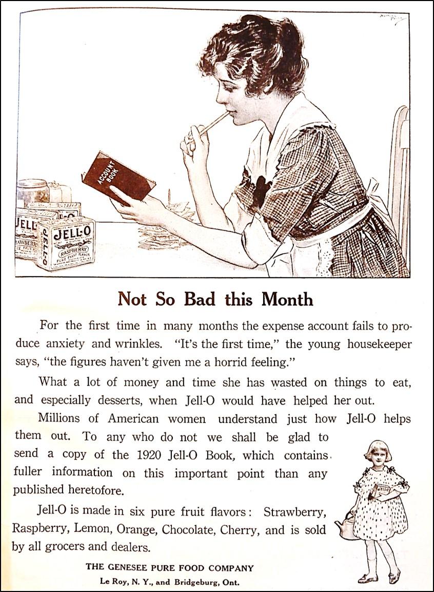 1920 Jell-O Advertisement