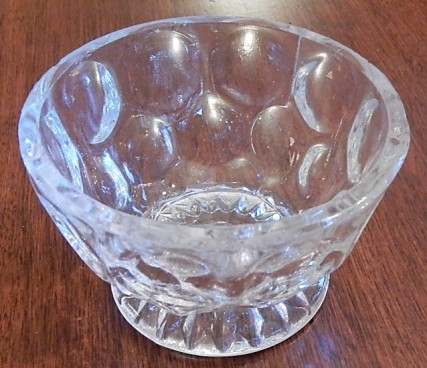 glass finger bowl