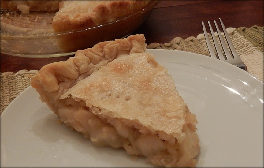 Slice of Lemon Apple Pie