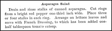 Recipe for Asparagus Salad