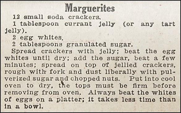 Recipe for Marguerites