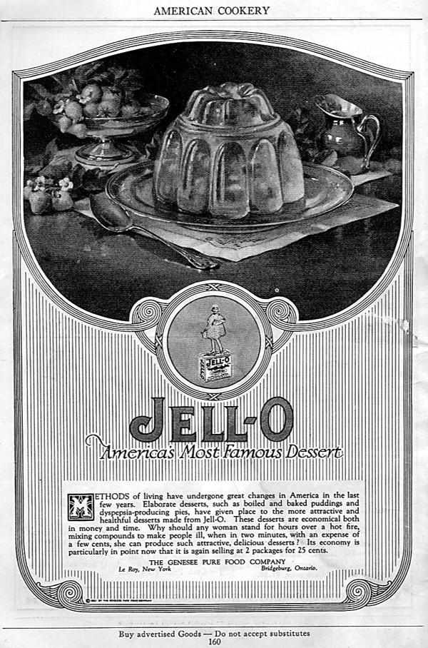 Jell-o Advertisement