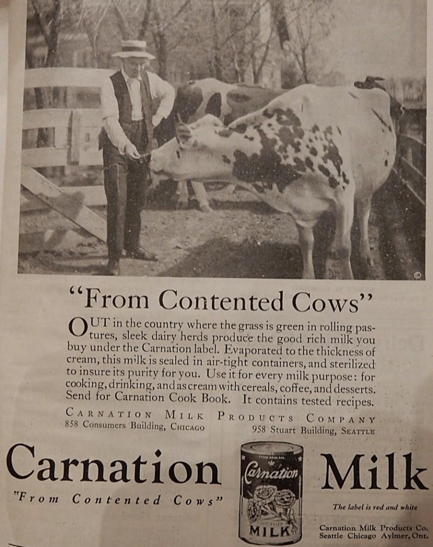Advertisement for Carnation Milk